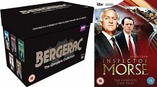 Inspector Morse Bergerac Complete Series Collections New Dvd Box Sets