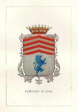 Araldica Stemma araldico della famiglia Pianciani di Roma
