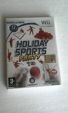 WII NINTENDO WII SEALED HOLYDAY SPORTS PARTY  LOOK PHOTO