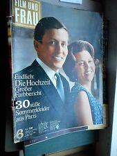 Film und Frau Nr. 6/8.3.1966 (Beatrix & Claus Sommerkleider Gilbert Becaud Fonda