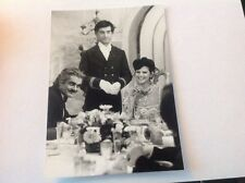 CLAUDIA CARDINALE , JEAN CLAUDE BRIALY, OMAR SHARIF PHOTO ORIGINALE 18x13