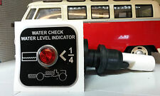 Fresh Water Tank Level Indicator Warning Kit LED Classic Camper/Motorhome 12v