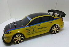 BMW M3 SPORT Stile 4WD Radio Remote Control CAR RC Drift Car in Scala 1:10