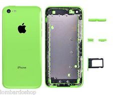 BACK COVER SCOCCA MIDDLE FRAME TELAIO POSTERIORE  PER APPLE IPHONE 5C VERDE