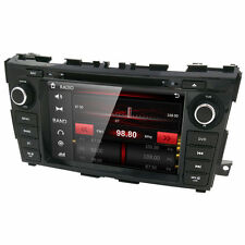 "8"" In Dash Car Radio DVD Player GPS Navigation For Nissan Teana Altima 2013 2014"