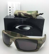 New OAKLEY Sunglasses GASCAN 53-083 60-15 Multi-Cam Camo Frame w/ Warm Grey Lens