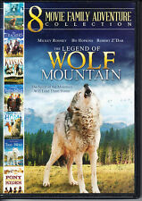 8 Movie Family Adventure Collection (2 DVD Set) The Legend of Wolf Mountain +++