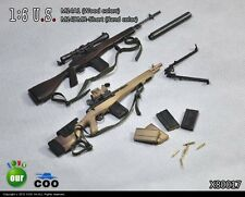 COOMODEL COO US Military M14A1 & M14 DMR-Short Sniper Rifle Set 1/6
