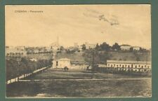 Lombardia. CRENNA, Varese. Aereo in fotomontaggio. Cartolina viaggiata nel 1926.