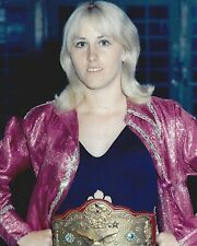 JOYCE GRABLE 8X10 PHOTO WRESTLING PICTURE WWF