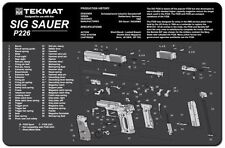 TEKMAT SIG SAUER P226 9mm SELF LOADING PISTOL REPAIR & MAINTENANCE ARMOURERS MAT