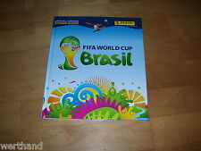 PANINI FIFA World Cup 2014 Brasil Hardcover Sticker Album komplett + Update lose