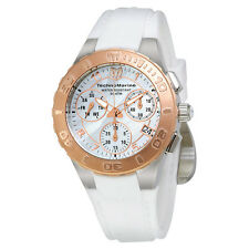 Technomarine Cruise Medusa Chronograph White Dial Ladies Watch 115090