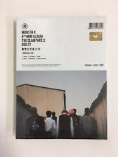 MONSTA X CLAN Mini 4th Album Innocent THE PART.2 Clan2.5 KPOP Sealed Cd