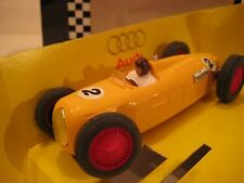 Pink-Kar (Spain) Yellow Auto Union Type C 1936 Plastic Slot Car 1:32 NIB