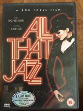 Roy Scheider Jessica Lange ALL THAT JAZZ ~ Bob Fosse 1979 Musical Classic UK DVD