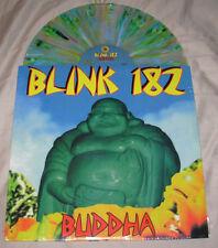 """BLINK 182 12"""" New Blue Green Splatter  vinyl LP BUDDHA record album"""