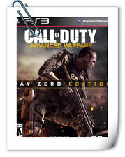 PS3 SONY PLAYSTATION Games CALL OF DUTY ADVANCED WARFARE Activision Shooting