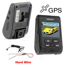 A119 Capacitor Novatek 96660 2K HD 1440P Car Dash Cam Camera GPS DVR + Hard Wire