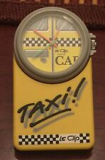 "Rate LE CLIP RETRO QUARTZ CLIP On WATCH SWISS ""Taxi"" Needs Battery"