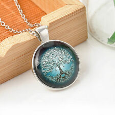SteamPunk/Pagan/Wiccan/Fantasy Tree of Life Necklace Pendant Charm & Chain