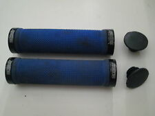 Skyway Blue Lock-on grips