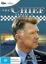 The Chief : Series 4 (DVD, 2014, 3-Disc Set)*R4*Excellent Condition*Martin Shaw*