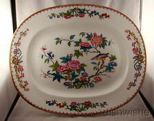 "Beautiful Hand Painted Minton CUCKOO 3934 Old Globe Mark 15"" Oval Platter"