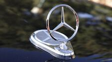 MERCEDES BENZ ELECTRONIC STAR EMBLEM UP-DOWN BY REMOTE CONTROL MODEL WITH HOLE
