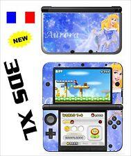 SKIN STICKER AUTOCOLLANT DECO POUR NINTENDO 3DS XL - 3DSXL REF 5 AURORE