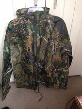 Realtree Camo Waterproof Jacket Shooting Carp Fishing Hunting New Size XL
