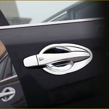 For 2016 2017 NISSAN ALTIMA 8pcs Chrome Door Handle Bowl Covers Trim