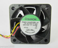 1pc SUNON PMD1204PQB1-A 40mmx28mm 4028 12V 4.0W DC BRUSHLESS Fan 3pin Connectors
