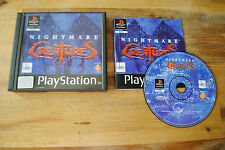 Jeu NIGHTMARE CREATURES sur Playstation 1 PS1 (one) REMIS A NEUF