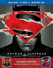 BATMAN VS SUPERMAN DAWN JUSTICE DIGIBOOK BLU-RAY TARGET EXCL WONDER WOMAN LEAGUE