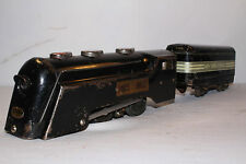 Marx Electric 1940's New York Central Commodore Vanderbilt Engine & Tender Lot 7