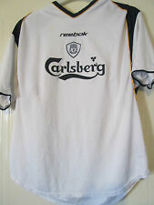 "Liverpool 2002-2003 CL Away Football Shirt Size 42""-44"" /39871"