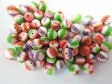 Czech bols beads color mix II. beads 8 mm pack of 10