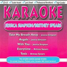 FREE US SH (int'l sh=$0-$3) NEW CD : Karaoke: Jessica Simpson & Britney Spears K