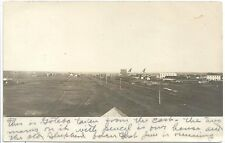 RPPC ~ Birds Eye View of Gotebo Oklahoma c1906 ~ View from the East