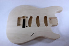 Unfinished SSS Basswood Strat Stratocaster body OFR Fits Fender neck P111