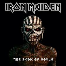 IRON MAIDEN - THE BOOK OF SOULS 2CD JEWEL CASE ALBUM SET (September 4th 2015)