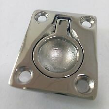 Boat Hatch Locker Flush Mount Lift / Pull Ring Handle Marine 316 Stainless Steel