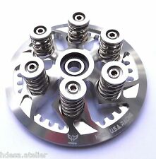 DUCATI CLUTCH PRESSURE PLATE KIT  Ducati 6 SPEED Engine SILVER ANODIZED