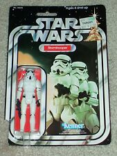 Vintage Star Wars KENNER 1979 STORMTROOPER 20 Back ANH Card MOC CLR BUBBLE AFAIT