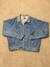VTG Tommy Hilfiger Denim Jacket (Size Large)