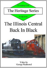 Illinois Central Back in Black Heritage Series DVD NEW Gulf GM&O ICG Bluford