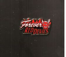 Manchester United Manu Red Devils Forever Teufel Pin