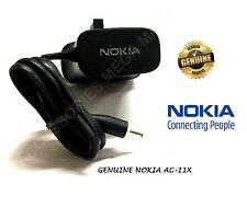 GENUINE NOKIA MAINS WALL 3 PIN CHARGER PLUG AC-11X FOR NOKIA E50, E51, E61, E63
