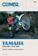 Clymer Yamaha IT125-490 1976-1986 Service, Repair, Maintenance by Wright, R., S
